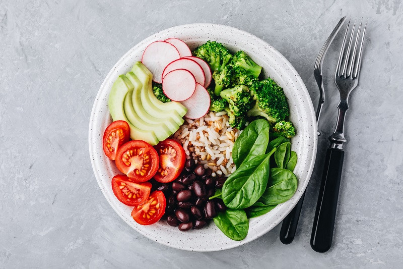Burrito Bowl healthiest foods to order