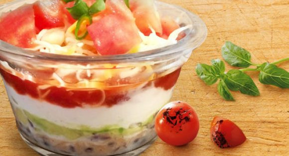 Quick Appetizers for Parties People Rave About 7-Layer Southwest Dip