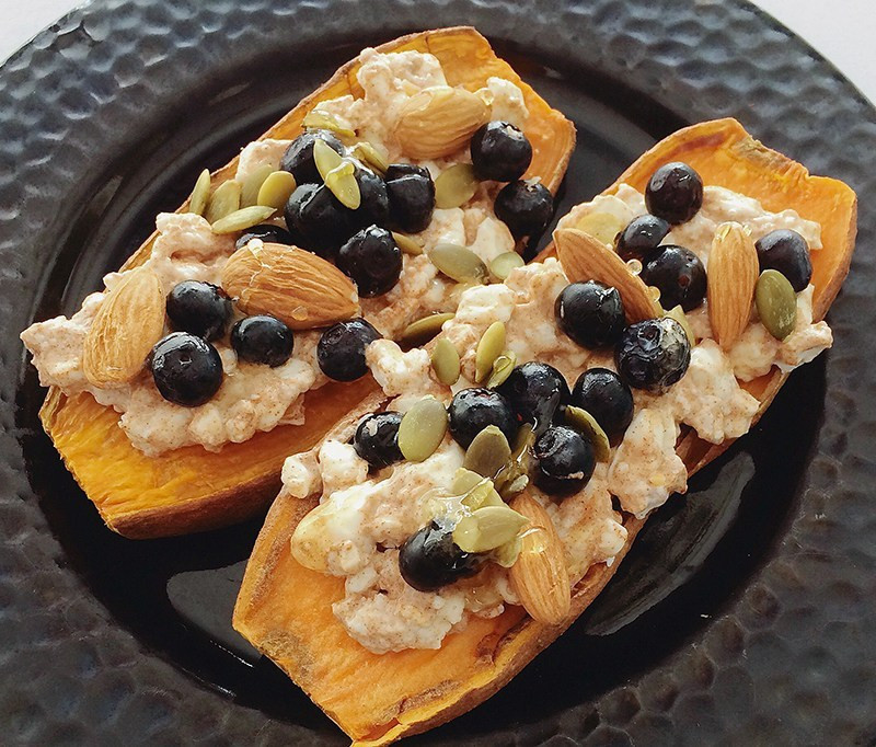 Blueberry-Nut-Sweet-Potato-Toast