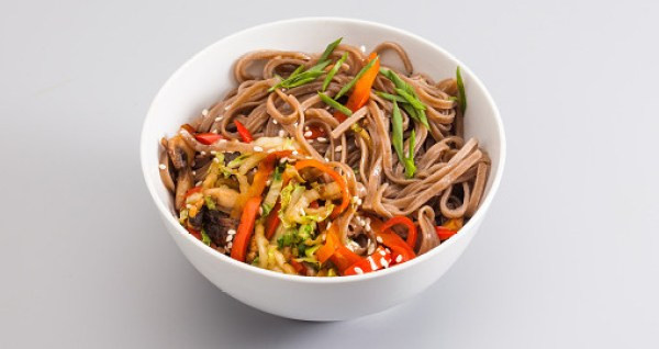Date Night Dinner Ideas Ginger Soy Noodle Bowl