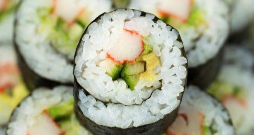 Sushi Recipes California Sushi Roll