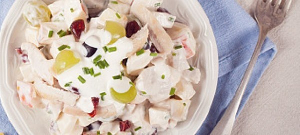 Turkey Cranberry Salad One Pot Meals One Dish Meals