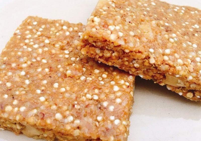 Sweet & Salty Quinoa Granola Bar Recipe