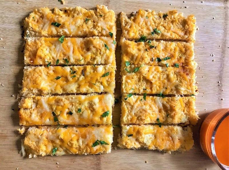 cauliflower breadsticks low carb