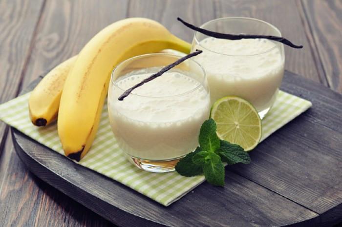 Vanilla lime milkshake healthy snacks