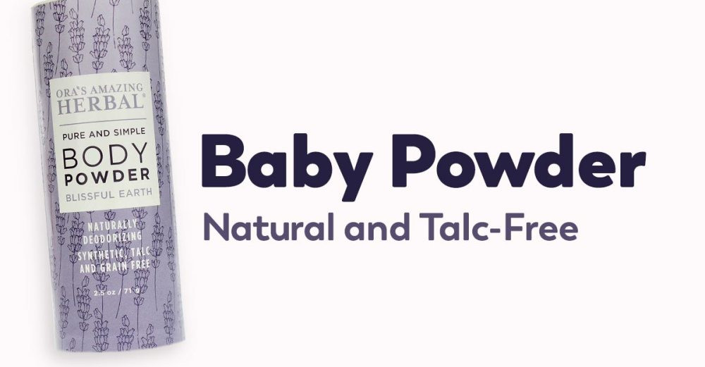 talc-free baby powder