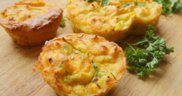 Recipes for Egg Lovers Easy Loaded Omelet Muffins