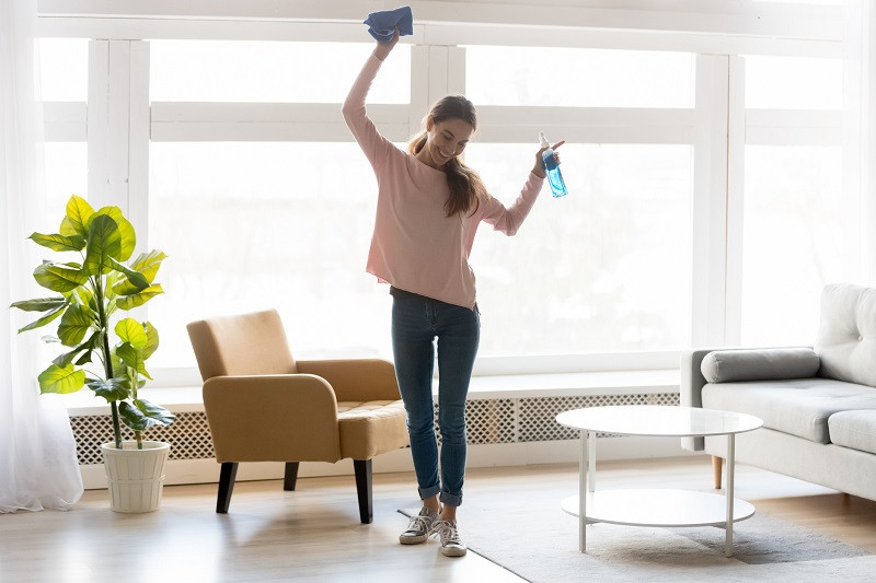 spring cleaning housework