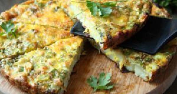 Recipes for Egg Lovers 5-Ingredient Veggie Frittata