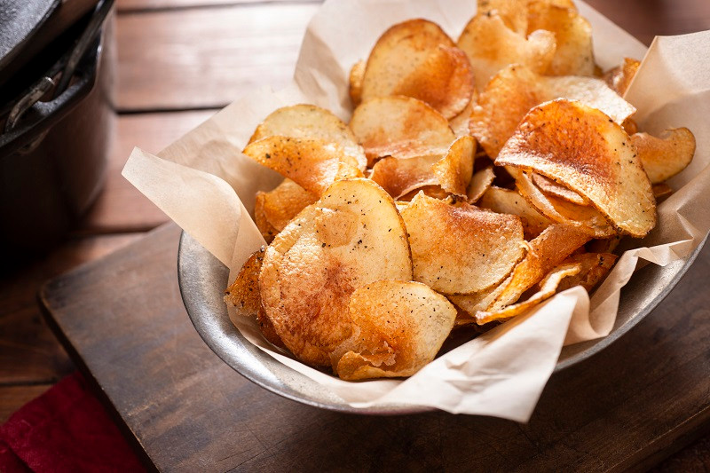 healthy potato chip