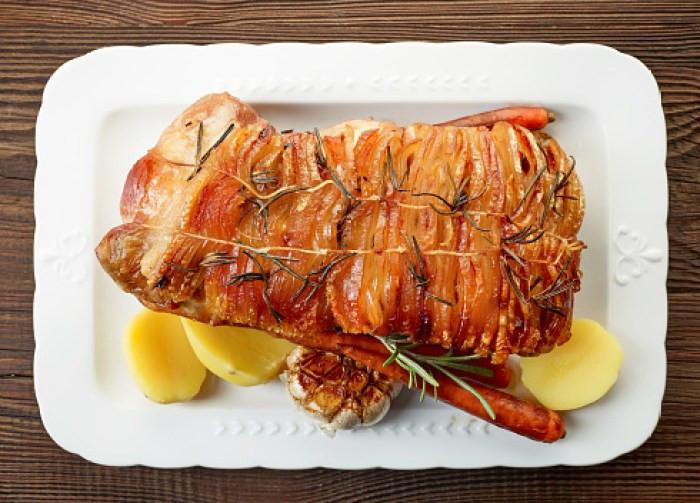 One Dish Herb Pork Tenderloin