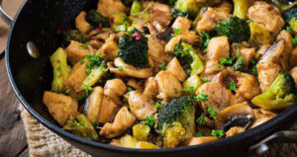 One Pot Meals Chicken and Broccoli Stir-Fry One Dish Meals