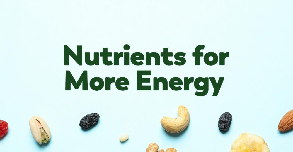 nutrients-for-energy
