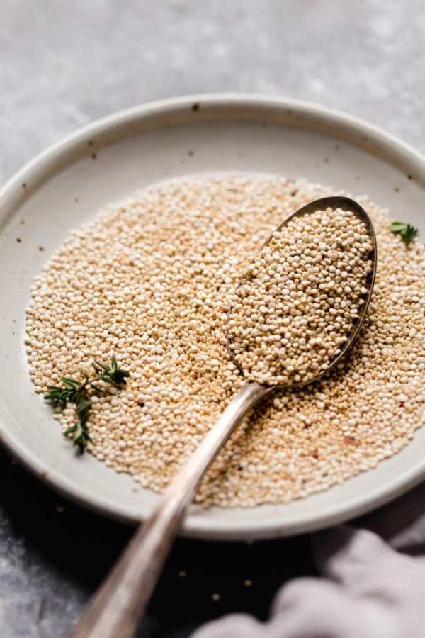 Photo of a bowl of quinoa - Healthy Quinoa Recipes