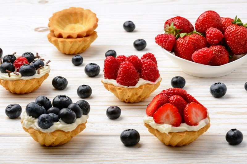 Skinny Mini Fruit Tart Recipe