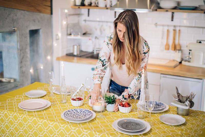 stuck at home healthy tips