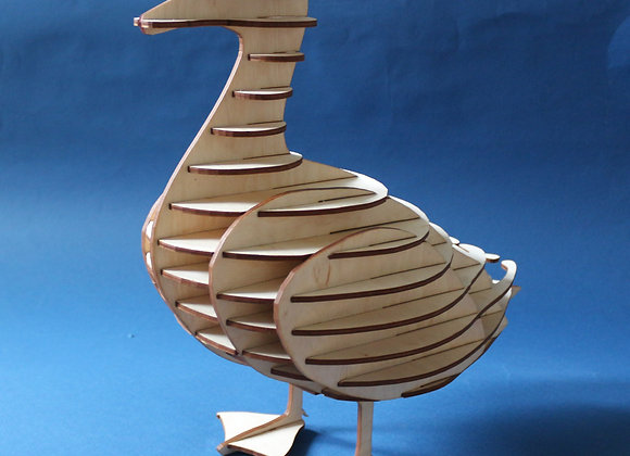 Утка, интерьерный декор
