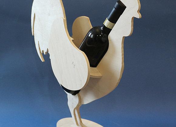 """Подставка для бутылки вина """"Петух"""""""
