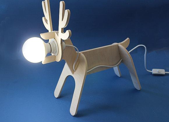 светильник олень