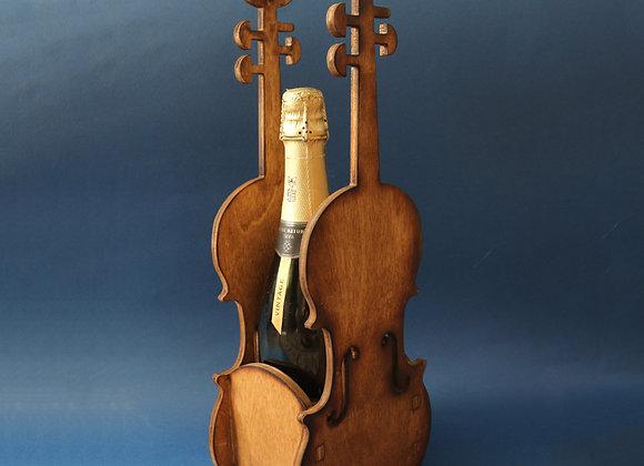 Бутылочница скрипка vintage edition
