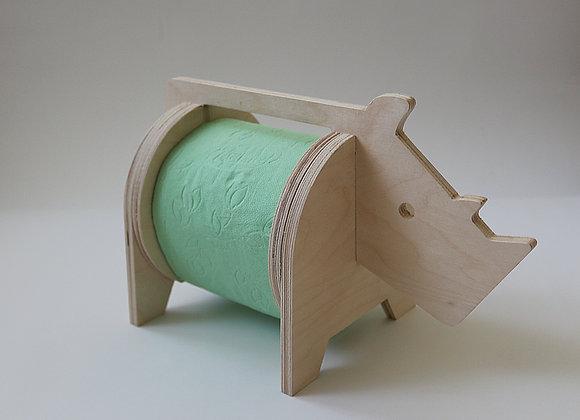 """подставка для туалетной бумаги """"Носорог"""""""