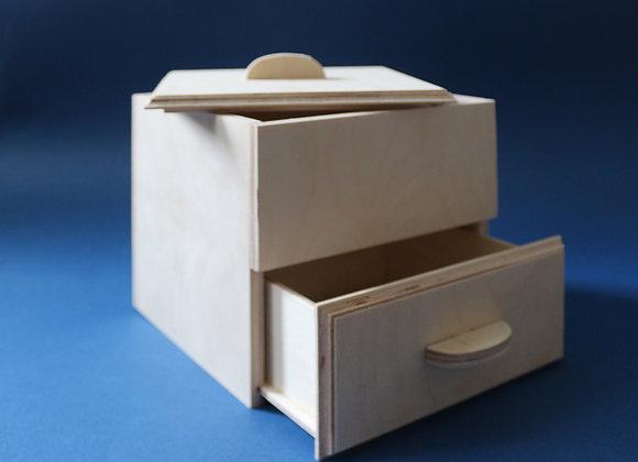Шкатулка с ящиком