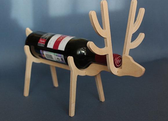 """подставка для вина """"олень"""""""