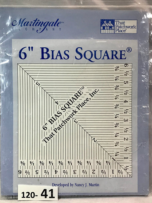 "6"" Bias Square"