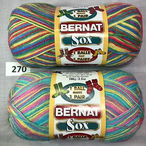 Bernat Sox - 1 each of 2 colors