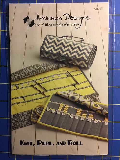 Knitting Needle purse