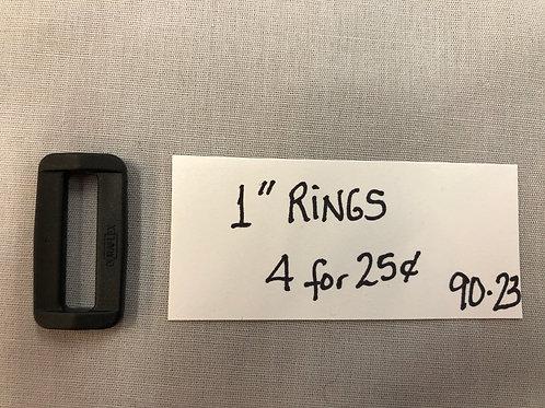 (23) Plastic Rings