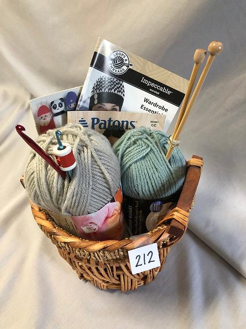 Crochet/Knitting Basket