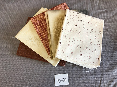Tan and Brown Prints