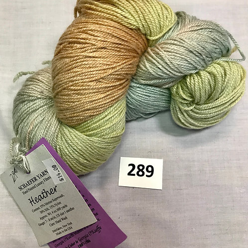 Schaefer Handpainted Luxury Fibers Yarn- 1 skein