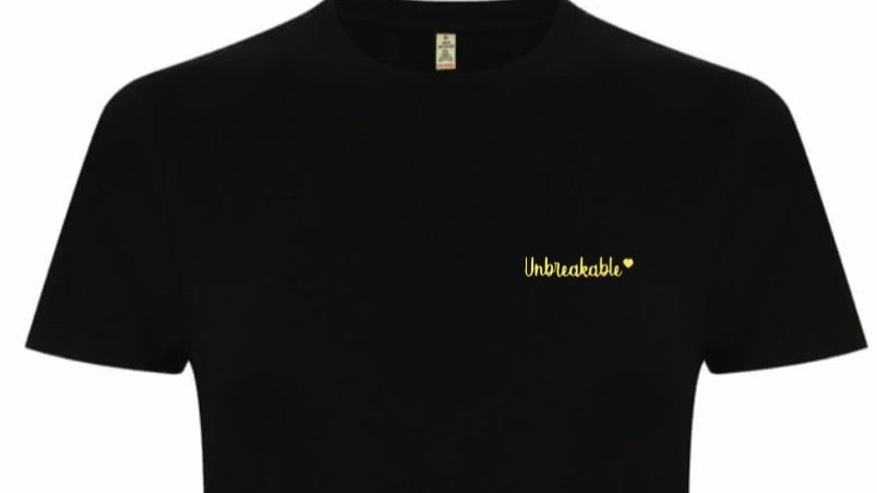 Unbreakable Black Unisex tee