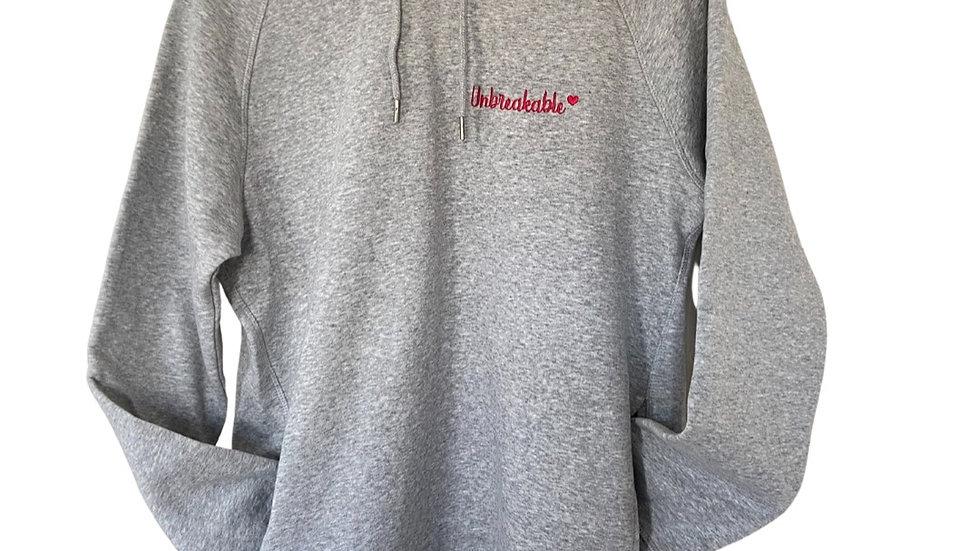 Unbreakable Grey Marl hoodie