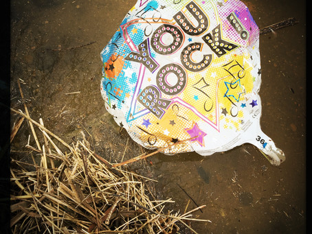 Party Balloons are NOT Festive