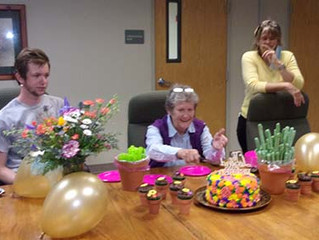 Happy Retirement, Barbara McCord