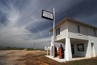 Lucille's Gas Station - Hydro, Oklahoma