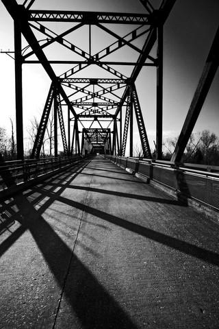 Chain of the Rocks Bridge - Illinois / Missouri border