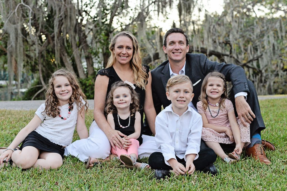 The Hynes family!