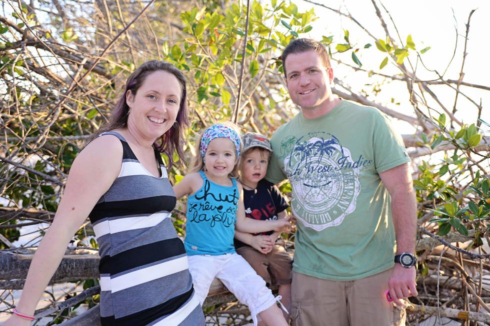 Rachel and David's vacation in Sarasota