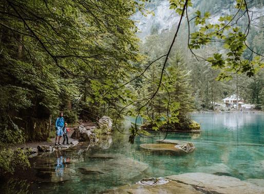 Switzerland photographer | Blausee Bernese Oberland