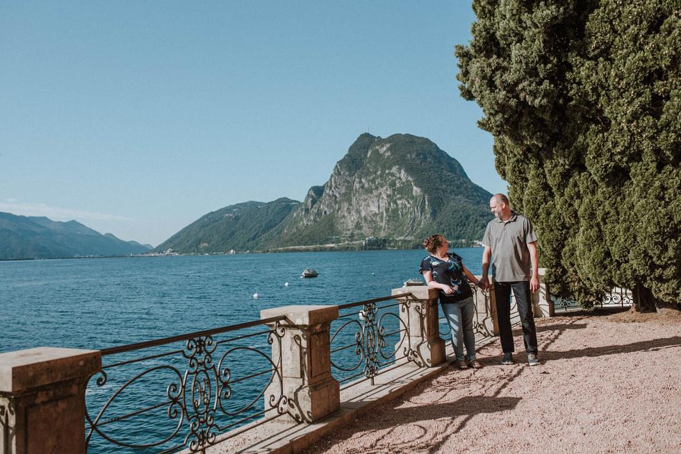 Swiss couples' photographer | Kristi & Jeff visiting Ticino