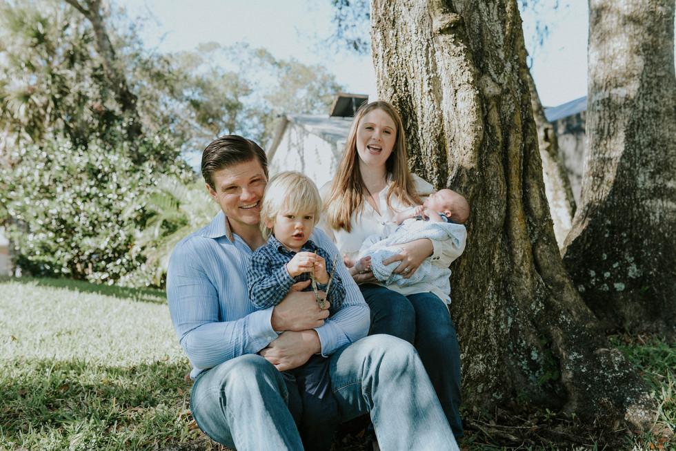 Ryan's lifestyle newborn session