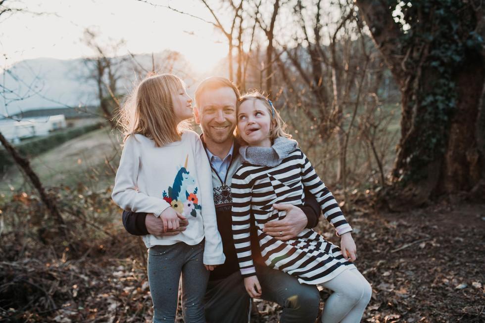 Family photos in Gentilino