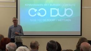 De eerste kennismaking met DUO was een succes!