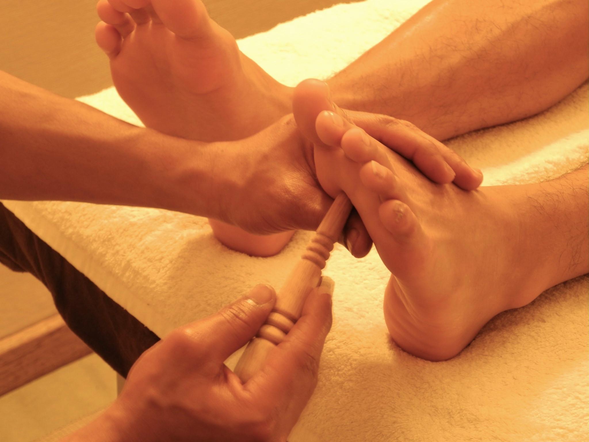 Copie de Massage aux plantes