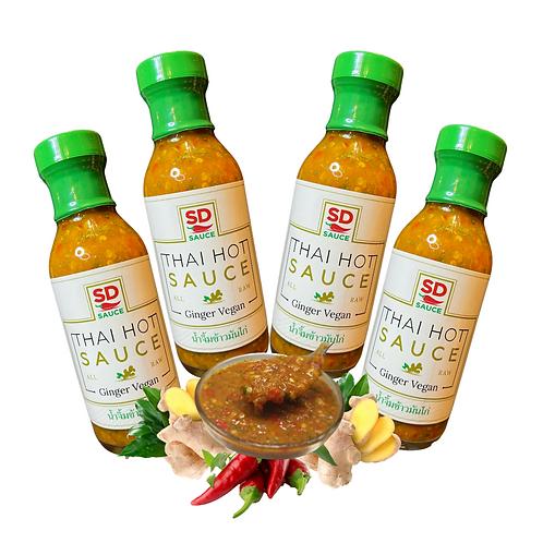 4 pack Ginger Vegan Set - 6oz bottles