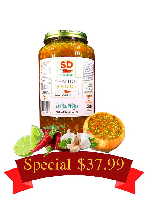 Original Hot Sauce - Family Size 32oz Jar